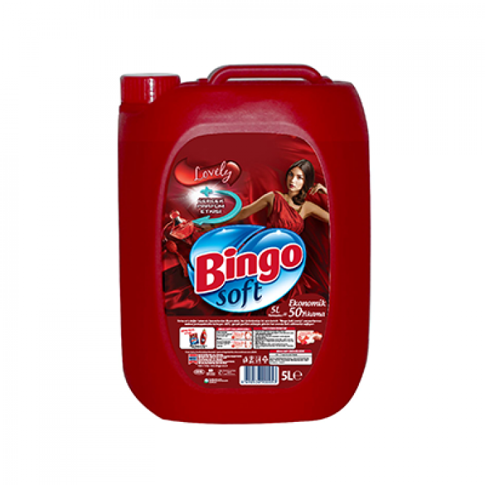 BINGO SOFT LOVELY 5 LT